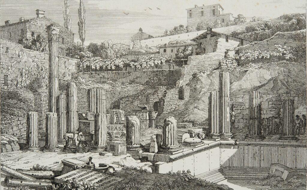 Rovine del Tempio Capitolino Brescia