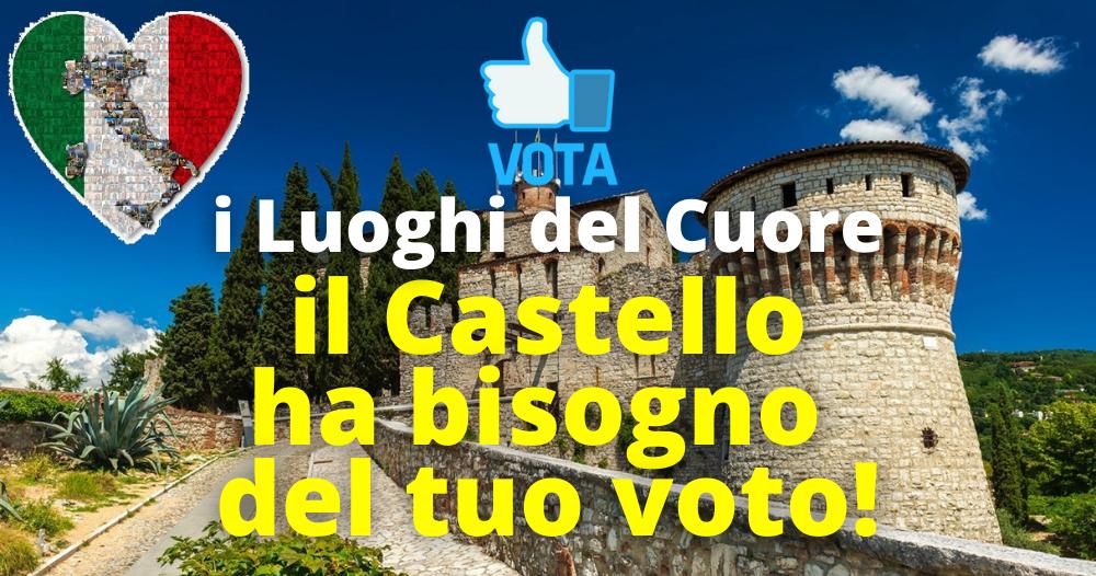 Castello di Brescia i luoghi del Cuore.