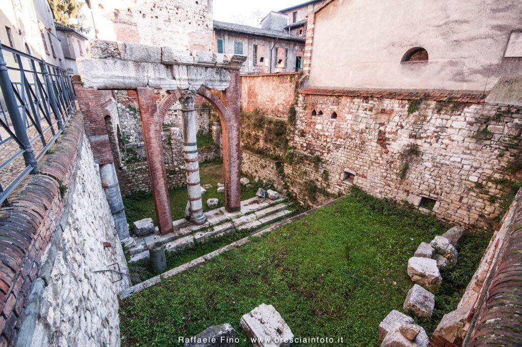 colonne romane Brescia