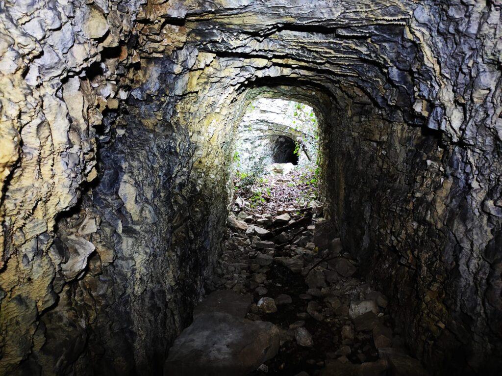 Le trincee e i bunker dei monti Campiani