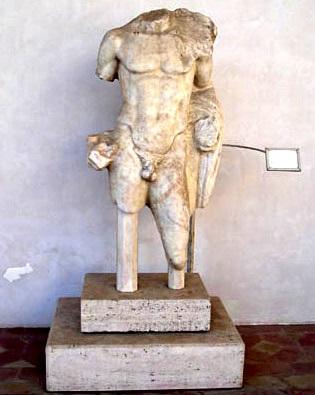 Marco Nonio Macrino statua