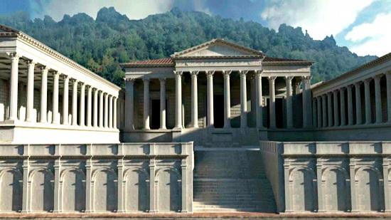 Ricostruzione Foro Romano Brescia