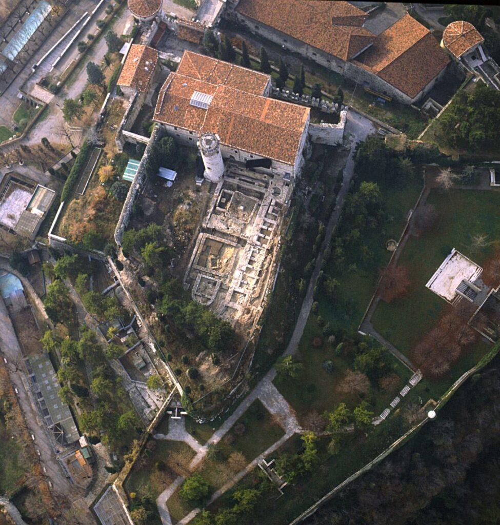 Scavi archeologici Castello di Brescia