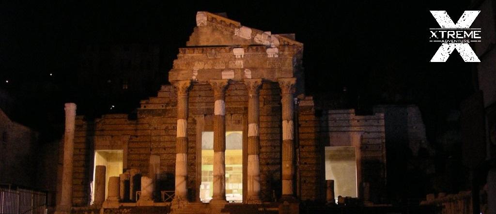 Tempio Capitolino Brescia Notte