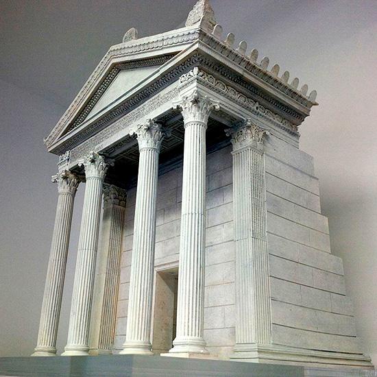 mausoleo Marco Nonio Macrino