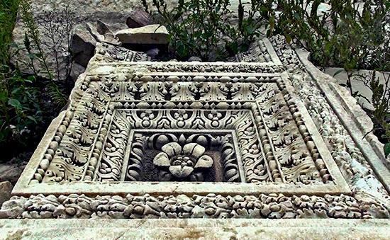 scavi archeologici roma Marco Nonio Macrino (1)