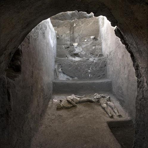scoperta corpi intatti pompei