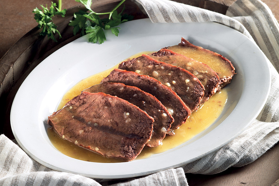 Cucina Bresciana - Ricette Bresciane - Mazo all'olio di rovato