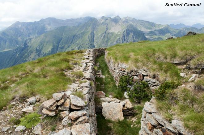 Escursioni in Valle Camonica Cima Rovaia Trincee