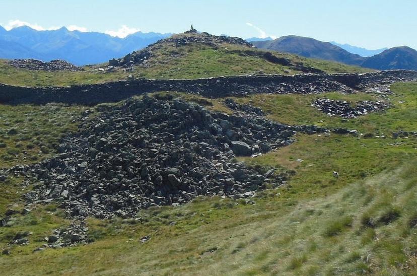 Escursioni in Valle Camonica Monte Pagano Trincee