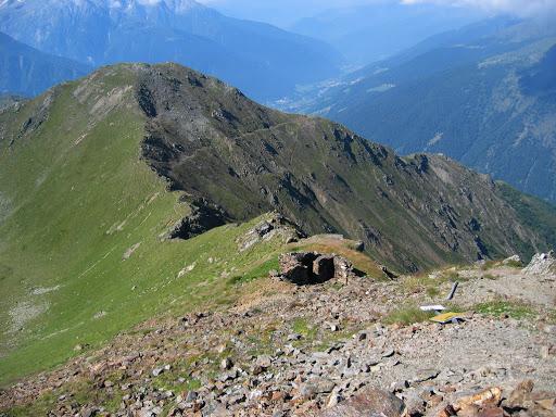Escursioni in Valle Camonica Monte Serodine e Cima Cadi. Trincee