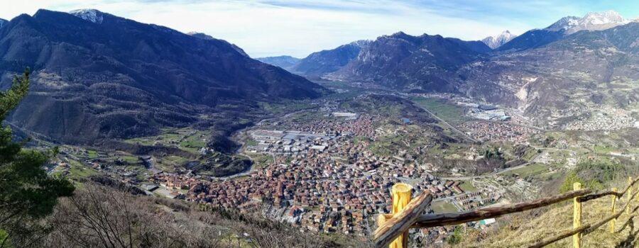 Bosco del cerreto vista dal gufo valle Camonica