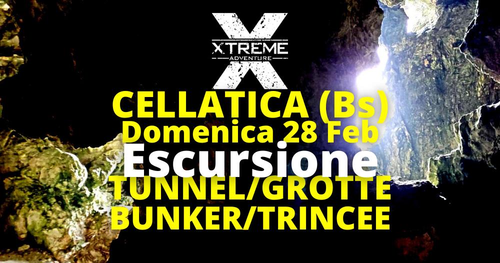 Escursione 28 Febbraio 2020 Le trincee e i bunker dei monti Campiani a Brescia